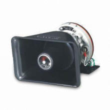 100W Car Speaker, Slim Driver, Lightweight, Matchable with Car Siren and Emergency Strobe Light Bar