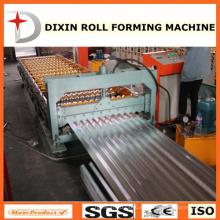 Hecho en China Hoja de techo de hierro corrugado que forma la máquina