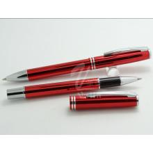 Canetas vermelhas promocionais, caneta inteligente barata