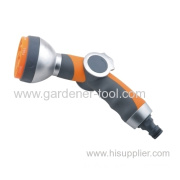 7-pattern Metal Garden Water Hose Nozzle With