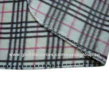 100% Polyester Fleece Blanket, Plaid