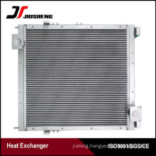 Bar And Plate Excavator Oil Cooler For Volvo EC460B