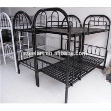 Bon prix étudiant dortoir en métal double lits superposés pour les meubles scolaires