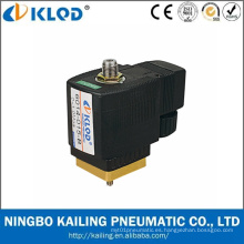 Válvula solenoide de agua de acción directa de bajo consumo de 3 vías de la serie Kl6014 24V