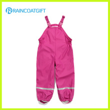 Children PU Rainwear Jumpsuit Rum-017