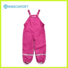 Crianças PU Rainwear Macacão Rum-017