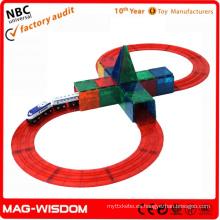 Juguetes plástico magnético Stick N Stack Mags 24pcs