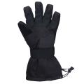 Black Wind Warm Ski Gloves