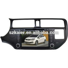 Système multimédia de voiture de prix de choc pour KIA K3 / Rio avec GPS / Bluetooth / Radio / SWC / Internet virtuel 6CD / 3G / ATV / iPod / DVR