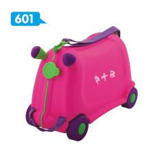 Lustig und Nizza Plastik Kinder Gepäck / Kofferraum