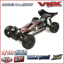 1/10 Scale 4WD Electric RC Buggy with lipo battery