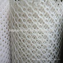 поставка поли сетка в рулонах/птица барьер сетки/шестиугольная пластик простые плетения/3 мм пластиковый лист