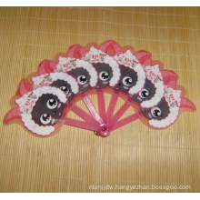 Cheap OEM Plastic Hand Fan