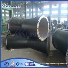 Alta presión personalizada y tubo de acero pieza (USB3-007)