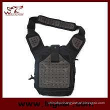 New Arrival Tactical Gear Nylon Shoulder Bag Military Bag Haversack Black