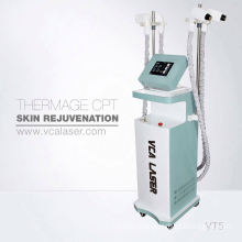 Fractional RF microneedle skin care system Invasive and Non-invasive needle tips