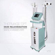 Частичная кожа RF внимательности кожи microneedle система Инвазивные и неинвазивные наконечники