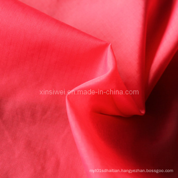 190t Check Nylon Taffeta Fabric