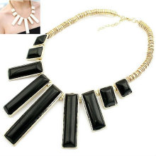 Fashion Vertical Bar Necklace Jewelry Wholesale Collier FN75