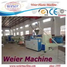 Ligne bon marché d'extrusion de tuyau de PVC de prix de Qingdao Weier