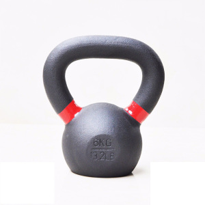 6KG Powder Coated Kettlebell
