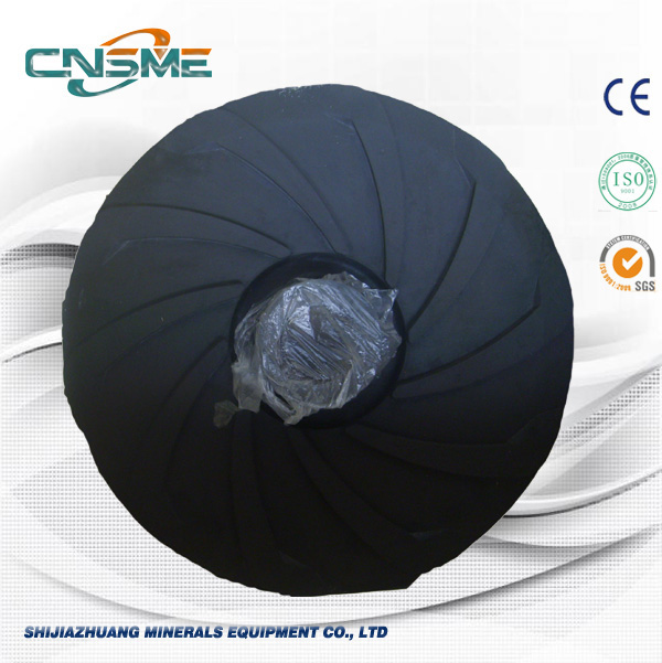 Standard Slurry Pump Natural Rubber R55 Impeller