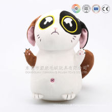 OEM personalizado feito andando gato de pelúcia boneca de brinquedo & amor realista brinquedo de pelúcia do gato