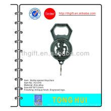 Металлический антикварный открывалка для ключей Keychain