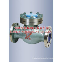 Válvula de retención abatible GB (H41H-16/25)