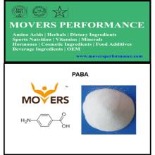 Paba de calidad superior al 99% (ácido 4 - aminobenzoico)