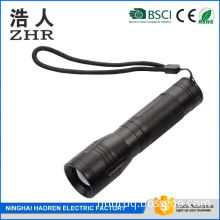 mini portable power flashlight usb rechargeable battery for corporate gifts special design