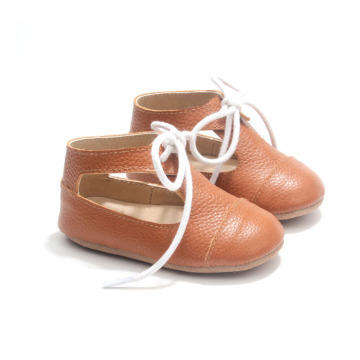 Baby Girl Brown Mary Jane Shoes for Toddlers