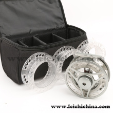 Wholesale Cassette Fly Reel Combo with 3 Spare Plastic Spool