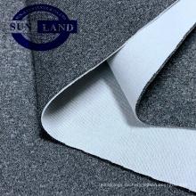 Freizeitkleidung stricken Kleidung Sport Mantel Mergel CD Polyester Spandex Interlock-Stoff