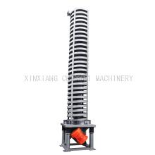 Fornecimento de materiais elevador espiral vibratório de aço inoxidável