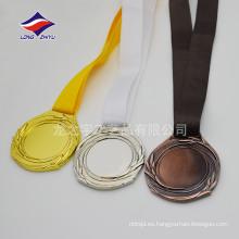 Personalización personal Medallas en blanco Medallas de recuerdo