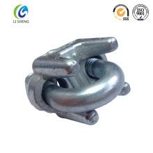 Un tipo de cable de alambre de metal clip