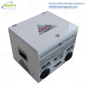 Cooler Metal Loudspeaker Cooler Ice Cooler