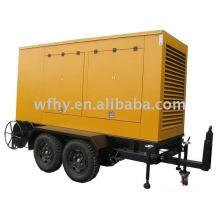 120KW Trailer Diesel Generator powered by Cummins motor