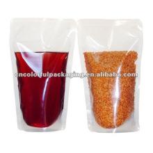 Plain Nylon Vakuumbeutel für Öl und Lebensmittel