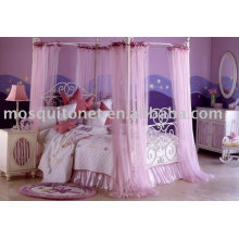 Cortina de cama de poliéster / cortinas de cama
