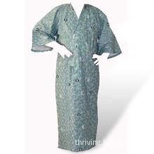 Printed Bathrobe, Used in Hotels and Household, Made of T/C and C/C Fabrics