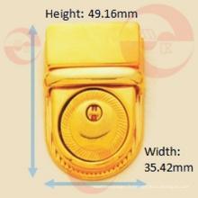 Serrure à pression à bouton en alliage de zinc en métal de qualité agréable