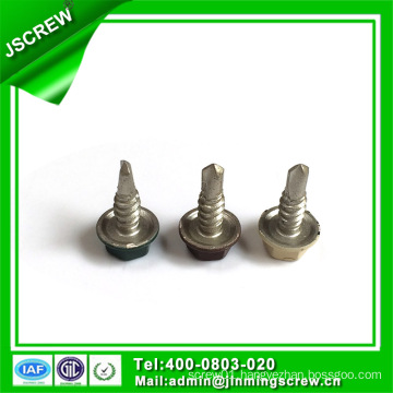 Customized Made Hot DIP Galvanized Painted Hex Head Self Drilling Screw