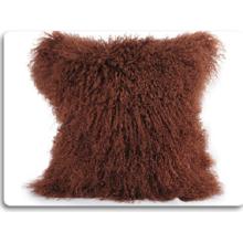 Nueva funda de almohada de piel genuina transpirable de Mongolia