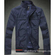Men Polyester Fashion Spring Autumn Thin Jacket Coat