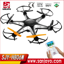 Explorers Hexacopter RC quadcopter with Headless FPV WiFi Real Time RC drone Camera 4CH 6 Axis SJY-H806W
