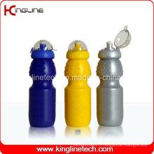 Пластмассовая бутылка воды спорта, пластичная спортивная бутылка, бутылка спортов воды 630ml (KL-6617)
