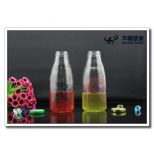 Glass Clear Milk Bottle 500ml