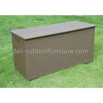 Aluminum Multi Functional Rattan Outdoor Storage Box